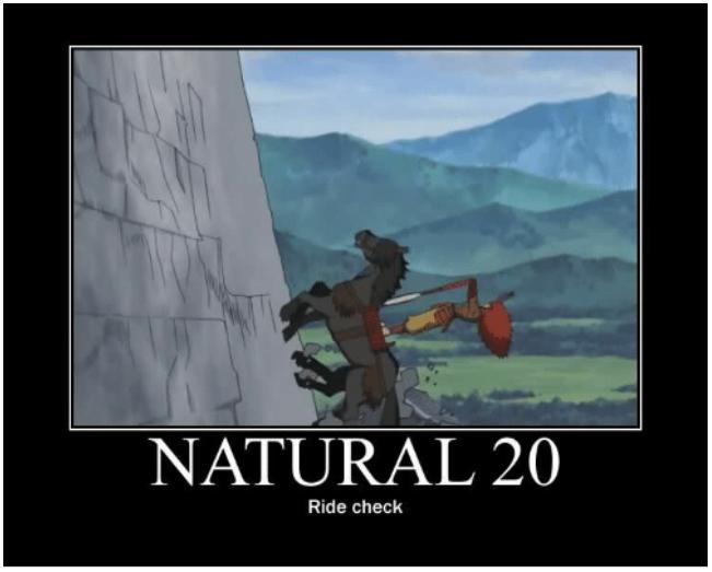Nat 20 Ride Check as a Meme