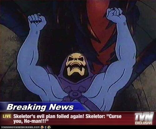 Skeletor is Foiled