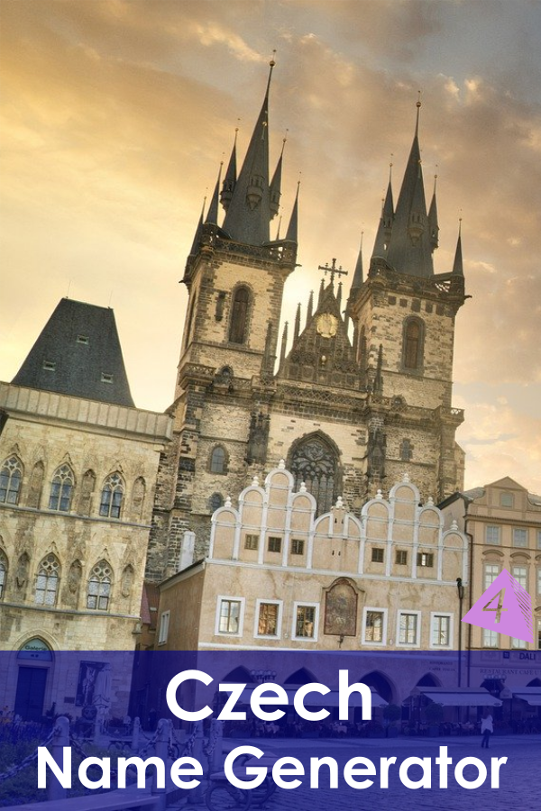 Czech Name Generator
