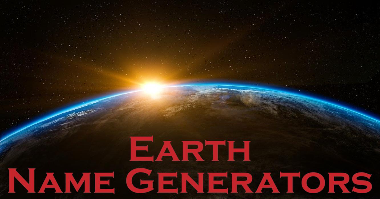 20 Name Generators from around the World!